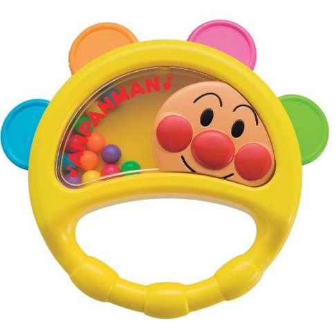 这款玩具非常适合刚刚开始挥动小手的宝宝们哦~可爱的面包超人婴儿手
