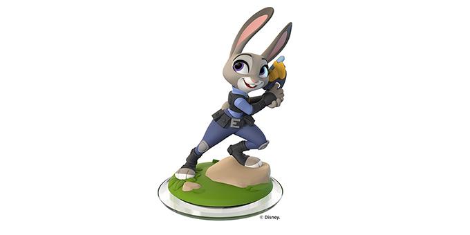 直邮中国disney infinity judy hopps figure 疯狂动物城朱迪玩偶 $4.