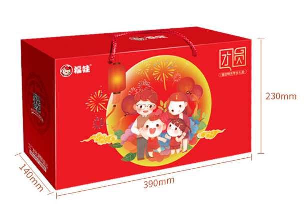 福娃送福 零食大礼包 1350g 39.5元包邮(42.5-3)