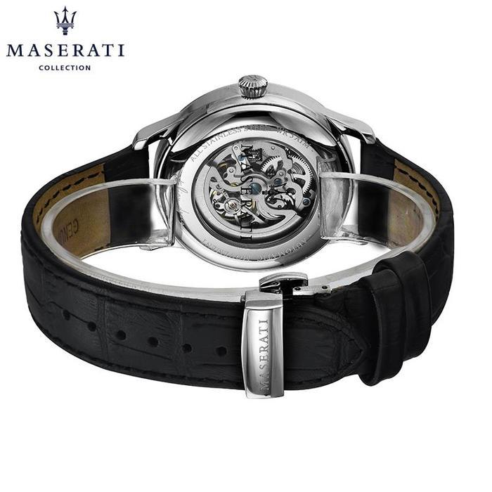 新款玛莎拉蒂男士机械手表全自动皮带腕表