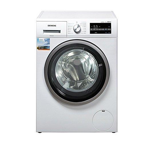 SIEMENS 西门子 WD12G4601W 全自动热烘干 8kg变频滚筒洗衣机(供应商直送)¥4378