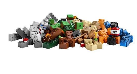 41元 lego 乐高 我的世界系列 手工沙盒
