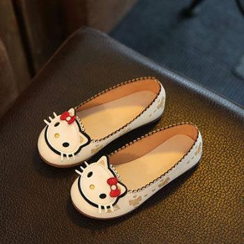 小懒猪 可爱猫咪公主鞋