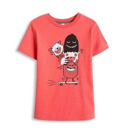 43元 esprit 童装 中性短袖体恤