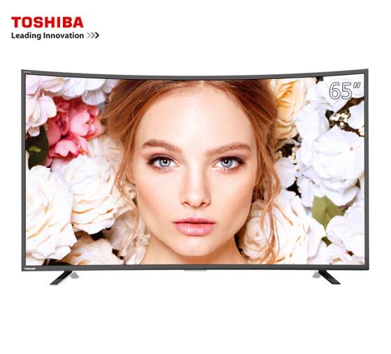 TOSHIBA 东芝 65U668EBC 65英寸4K曲面液晶电视 包邮6399元