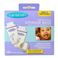 Lansinoh 20470 母乳储存袋 100个 *3件 257元(合85.67元/件)