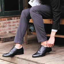 网易严选男士经典英伦商务正装鞋 251.3元
