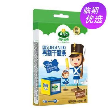 丹麦进口 爱氏晨曦 儿童奶酪条 原味 108g /盒(18g*6条)