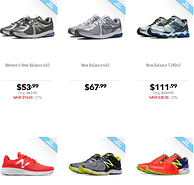 Joe's NB Outlet 精选男女款运动鞋  用码5折 全场可代购