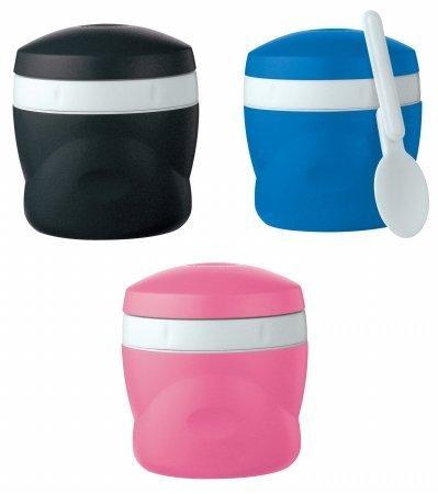 THERMOS膳魔师 便携式保温零食罐带可折叠汤勺 8盎司 Prime会员凑单到手约¥70.12