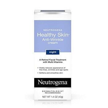 凑单品:Neutrogena露得清 Healthy Skin抗皱晚霜40g