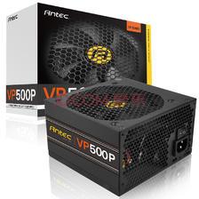 安钛克(Antec)额定500W VP500P 电脑电源(主动式PFC/12CM静音风扇/两年质保/台