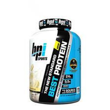 健身健美!BPI BEST Protein金牌乳清蛋白粉5磅 369元包邮