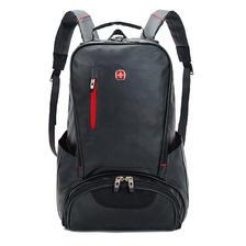 ¥59 瑞士军刀16寸双肩包男士背包女韩版中学生书包旅行包休闲商务电脑包SA