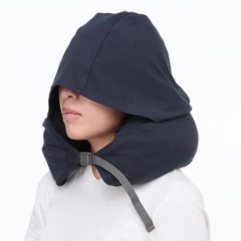 双11预售: MUJI 无印良品 颈部靠枕 带帽子