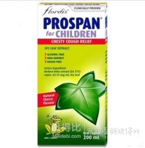 Prospanby Flordis 婴幼儿儿童止咳口服液200ml