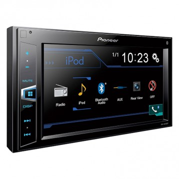 先锋汽车音响Pioneer MVH-AV290BT 6.2寸触摸屏音响主机 自带蓝牙接入