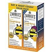 $12.99 (原价$17.49) Zarbee's 儿童日夜止咳糖浆4oz,葡萄味,2瓶