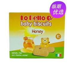 当当网商城 意大利进口 Lo Bello 乐贝乐 宝贝饼干200g*2盒19.9元包邮包税 已降30