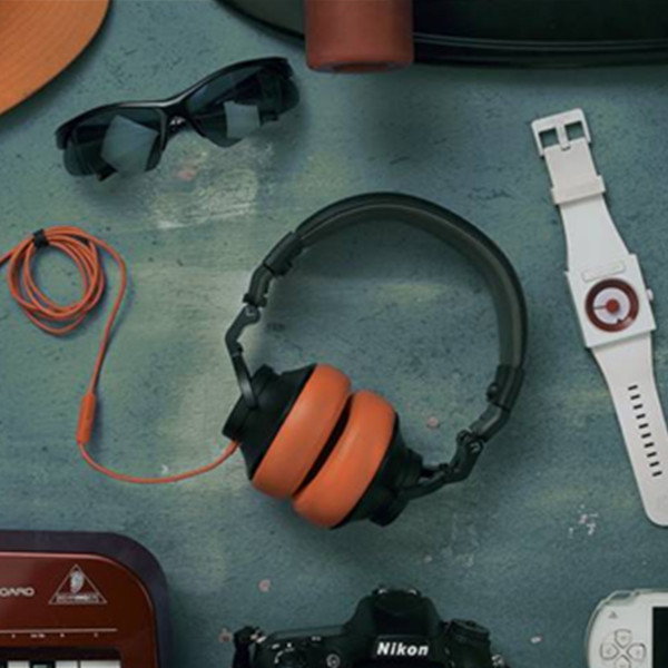 TiinLab耳一号UT501黑橘耳罩式耳机 499元包邮