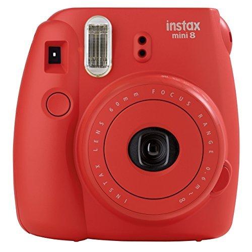 FUJI instax 迷你8红色 Fujifilm instax mini 8相机紫红色529.94元