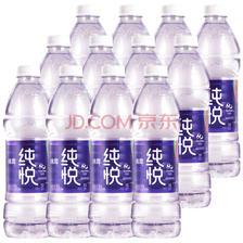 ¥9.9 冰露纯悦 包装饮用水 550mlx12瓶 整箱