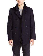 折合275.87元 DKNY Denn 34 Inch 男款羊毛大衣'