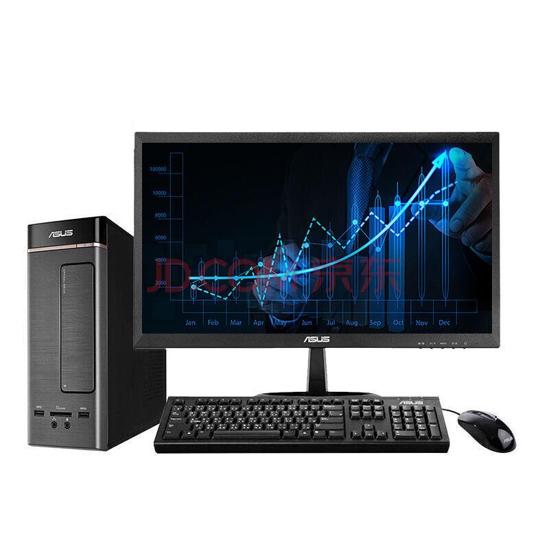 华硕(ASUS)灵睿K20台式电脑整机(Intel酷睿i3 4G内存 500G 集显 10L小机箱 ¥2899