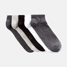 CELIO法国ZARA 5件装棉袜 活动好价49元(需邮费)