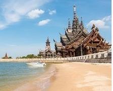 正春节出发 长沙往返泰国芭提雅含税机票 1312元起