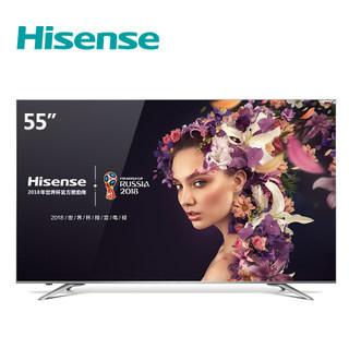海信(Hisense) LED55EC720US 55寸 4K平板液晶电视3299元