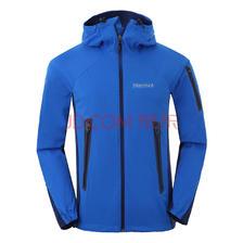土拨鼠Marmot户外男款M2软壳夹克上衣透气耐磨外套F80660 正蓝色-深海军蓝色 L8