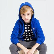 当当网商城 巴拉巴拉 男童套装长袖裤子两件套+长袖风衣91元 已降110元