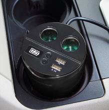 19元包邮(39-20)纽曼 3.1A水杯式车载充电器NM18 天猫好价