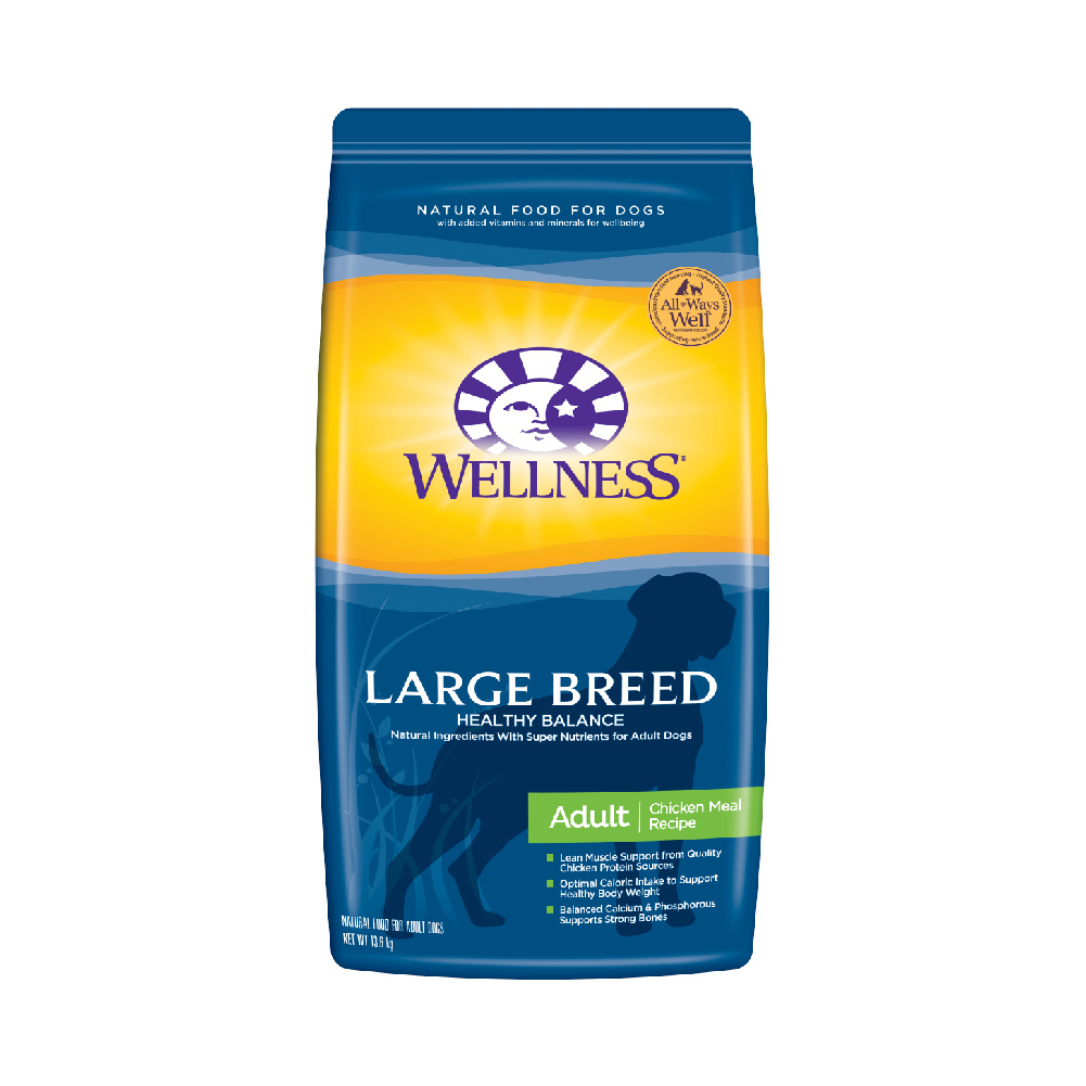 Wellness 鸡肉配方狗粮 中大型犬成犬 13.6KG  券后539元