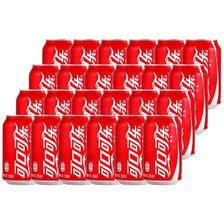¥39.9 可口可乐 汽水 330ml*6*4 整箱装