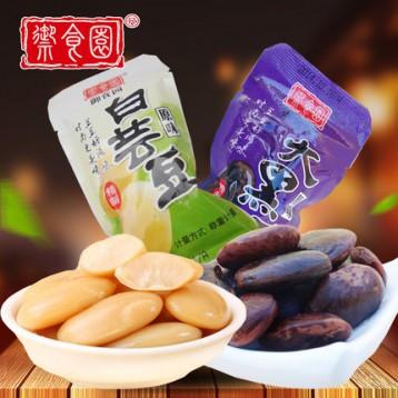 北京特产 御食园 大黑豆/白芸豆 500g 开袋即食 ¥23.8包邮(¥28.8-5)