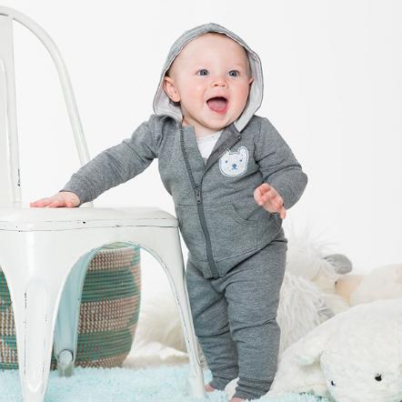 Prime会员:Lamaze 婴幼儿纯棉三件套 灰色 凑单免费直邮含税到手约63元 买手党-买手聚集的地方
