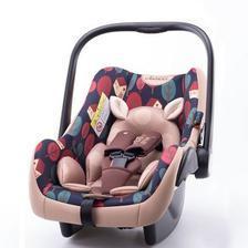 贝贝卡西 LB321 婴儿提篮式 儿童安全座椅 咖色松果色 ¥188