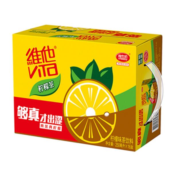 维他柠檬茶250ml*16盒柠檬味茶饮料 39.8元(2份立减10元)