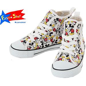 Converse & Mickey Mouse 匡威&米老鼠合作款 儿童鞋