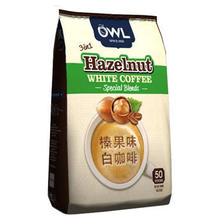 国美 猫头鹰牌 咖啡拉白榛果味量贩装1kg39.9元包邮(已降40元)