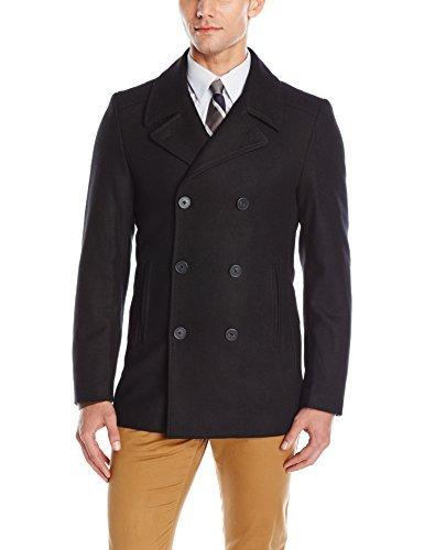 折合425.11元 DKNY 男士双排扣短款大衣