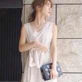 MERCURYDUO 女士蝴蝶结系带连衣裙 7182日元 直邮到手约500元