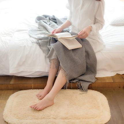 网易严选 全棉单面割绒浴室地垫 ¥56