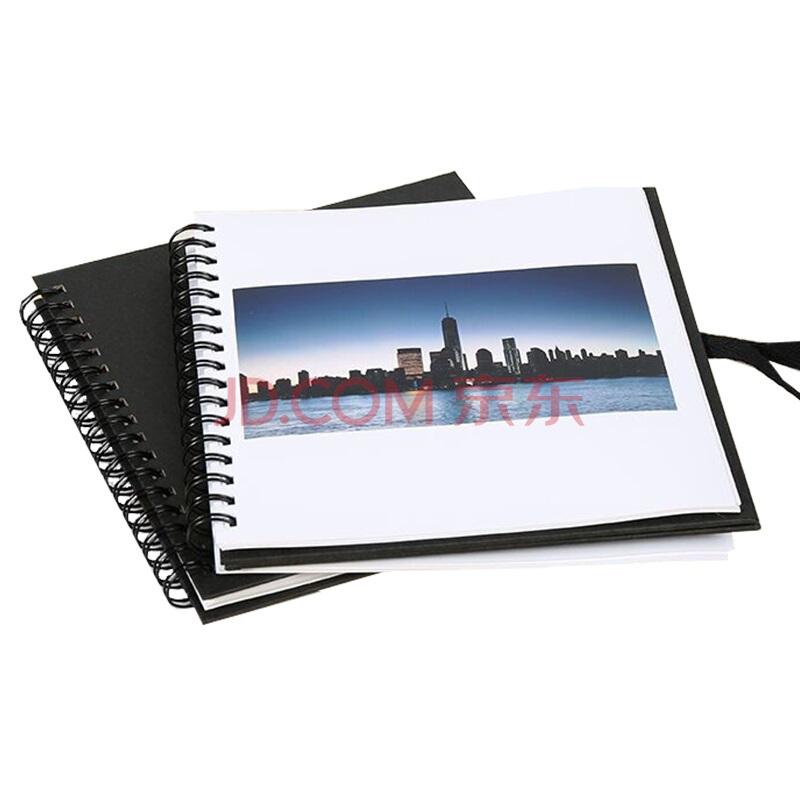 富士照片书 高端黑6英寸正方形绒面20页19.9元