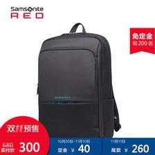 Samsonite/新秀丽14寸通勤双肩包 商务休闲电脑包背包I82  券后300元