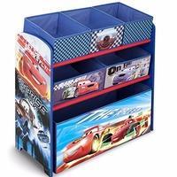 $26.24 (原价$49.99) Delta Children 汽车总动员主题玩具收纳架