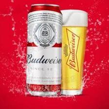 百威 经典醇正啤酒500ml*18罐 94元包邮 5.2元/罐