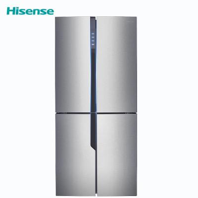 双11预售、历史新低: Hisense 海信 BCD-459WTDVBPI/Q 十字对开门冰箱 459升3399元